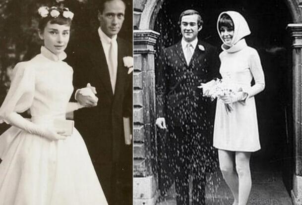 Костюм жениха и платье невесты из 60-х годов прошлого столентия старые фото