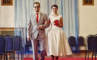 Невеста и жених - тематическая свадьба в стиле 6-[[ годов прошлого века