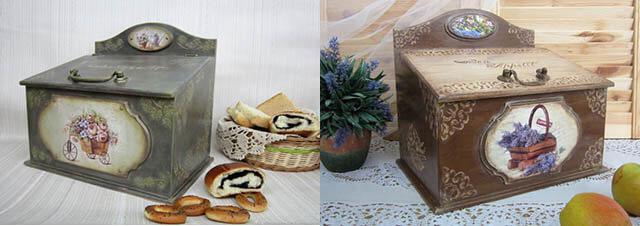 Отличный подарок бабушке-хозяйке - хлебницы из дерева