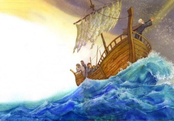 спасает моряков