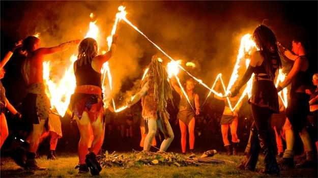 Апхелио: Фестиваль огня, Шотландия, история, описание, дата проведения