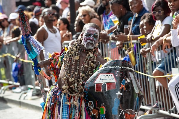 карнавал на Сен-мартен